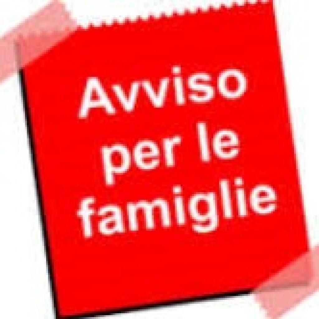 A beneficio delle famiglie: emanazione avviso r...