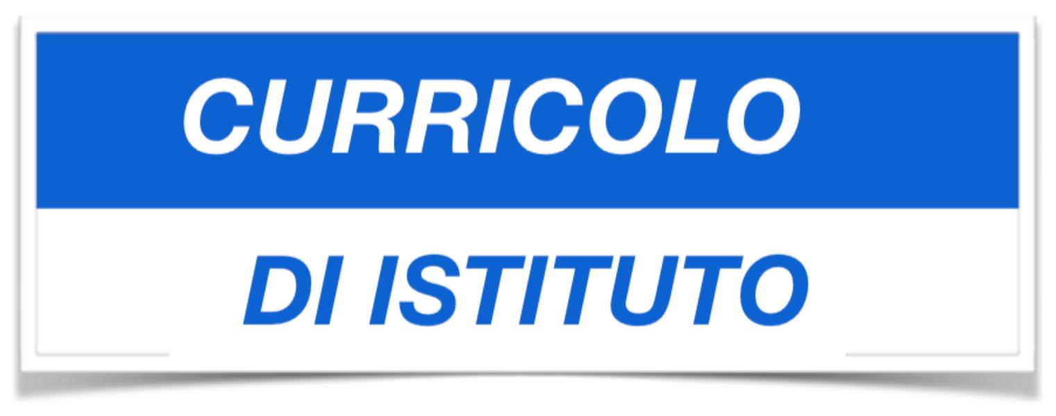 Curricoli formativi Istituto