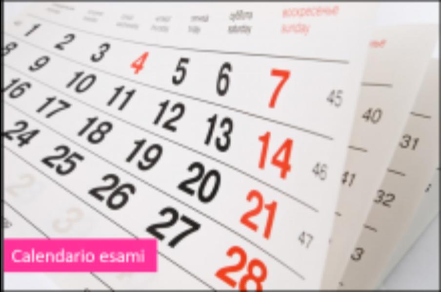 Calendario esami conclusivi I ciclo istruzione ...