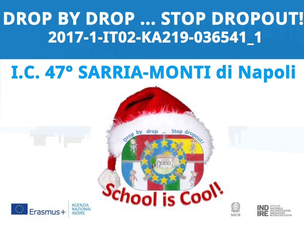 DROP BY DROP ... STOP DROPOUT!