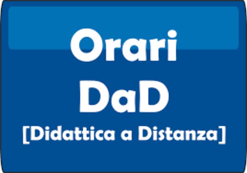 ORARI DAD