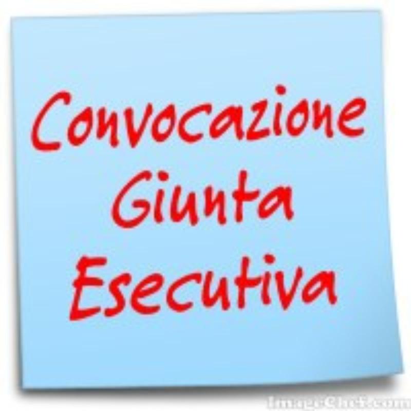 Convocazione su Meet della Giunta Esecutiva per...