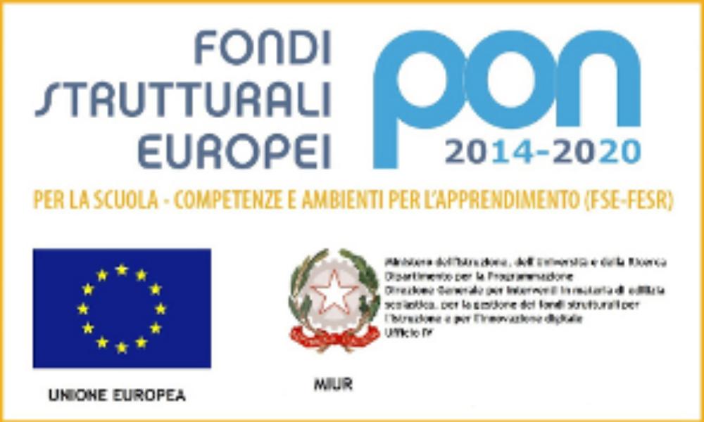 Pon Fondi Strutturali 2014/2020