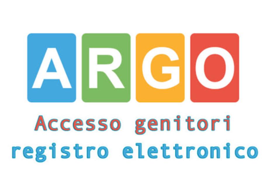 Comunicazione registro elettronico Argo