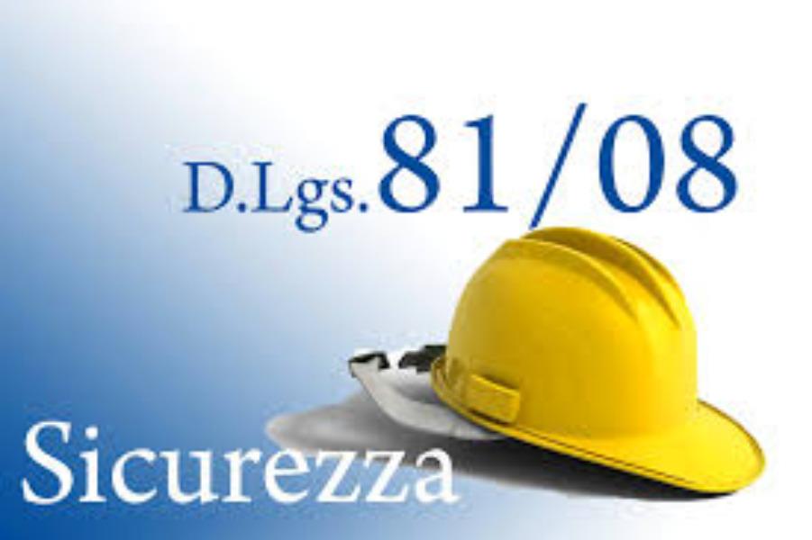 SICUREZZA - DISPOSIZIONI DI SERVIZIO ex D.lgs 8...