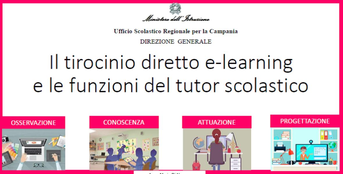 Tirocinio in modalità e-learning per studenti ...